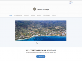 Nikianaholidays - Drupal - Web page suitable and accessible to people with disabilities - WCAG comformance