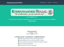 ktimatologiki-pellas - Custom Website Design - Construction