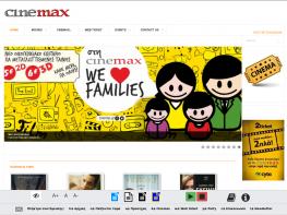 Cinemax.gr - Joomla CMS - Configuration / Error Resolving / web site adjustment