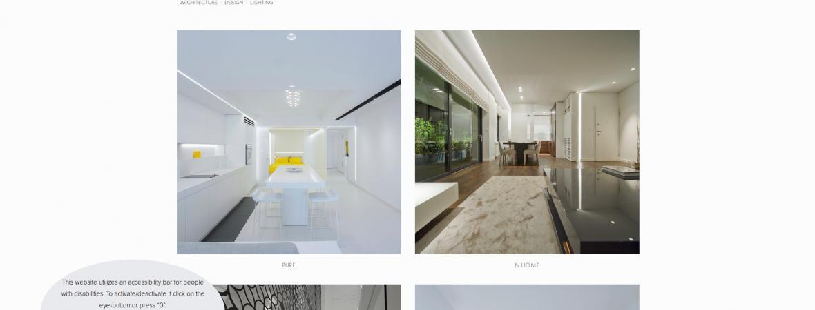 Anru.gr - Προσαρμογή ιστοσελίδας - προσβάσιμη για ΑμεΑ - Squarespace